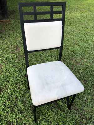 Metal chair for Sale in Arlington, TX