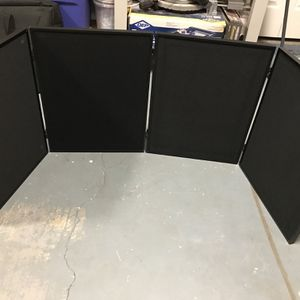 4 panel (18x24each) presentation board (Velcro) with carrying bag for Sale in Marietta, GA