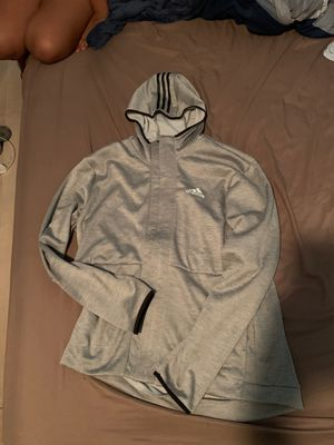 Adidas Gray Hoodie Size (XLarge) for Sale in Chicago, IL