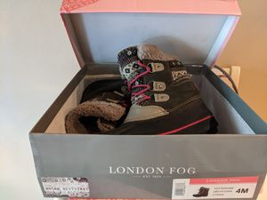 London fog kids snow boots for Sale in Bella Vista, AR