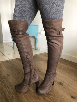 Thighs high heel boots for Sale in HALNDLE BCH, FL