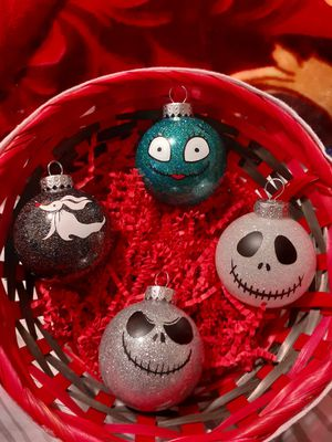 Nightmare before Christmas ornaments for Sale in Midland, TX