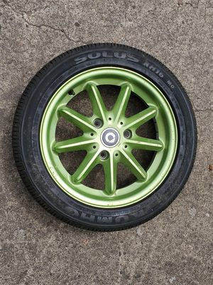 2014 Smart ForTwo front wheel with new tire. 155\60 R15 for Sale in Gresham, OR