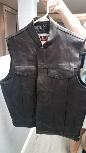 Leather MC Vest for Sale in Chandler, AZ