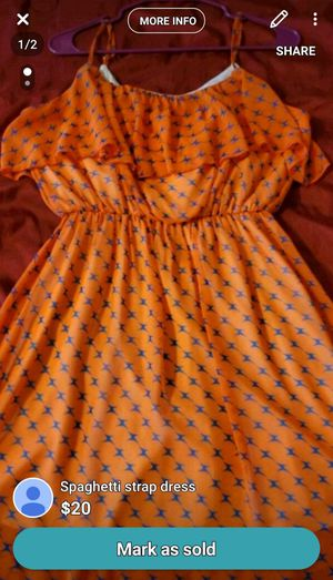 Spaghetti strap dress for Sale in Abilene, TX