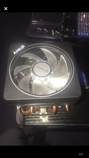 AMD wraith prism cpu cooler for Sale in Decatur, AR