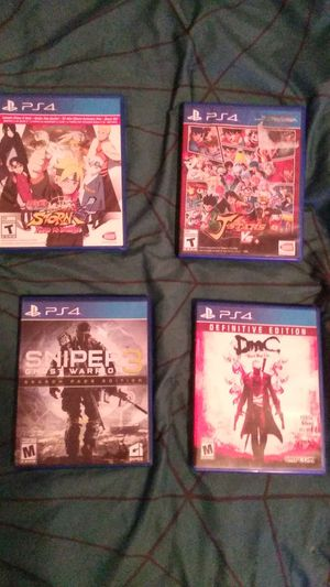Ps4 games sale/trade for Sale in Hialeah, FL
