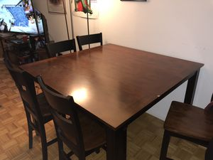 Kitchen table set with 6 chairs for Sale in New York, NY