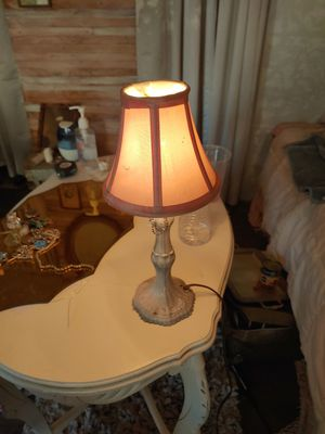 Cute vintage pink modern shabby chic little lamp .. for Sale in San Diego, CA