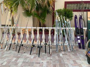 FISHING RODS, REELS, PUMPS, HOLDERS, BAIT KNIVES, ETC. for Sale in N REDNGTN BCH, FL