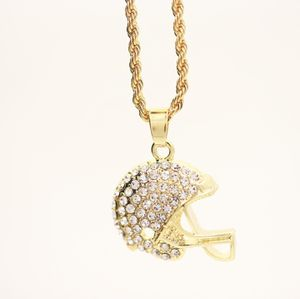 Gold Finish ⭐️ PENDANT w Rope chain for Sale in Dallas, TX