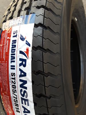 205/75/14 (4) NEW TRAILER TIRES installed ✔ for Sale in Los Angeles, CA