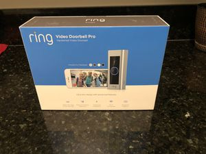 Ring Video Doorbell Pro, with HD Video, Motion Activated Alerts for Sale in Fontana, CA