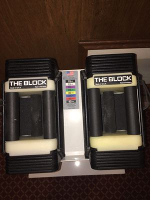 Powerblock dumbbells 10-45 lbs. for Sale in Lakewood, OH