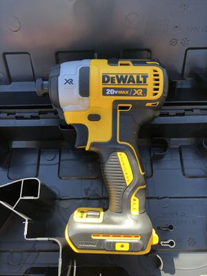 Dewalt 20V XR Impact Drill with Case Tool Only $70 Firm No Less/ Es Lo Menos for Sale in Chino, CA