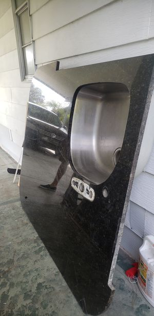 Granite Counter Top with Sink for Sale in Lake Worth, FL