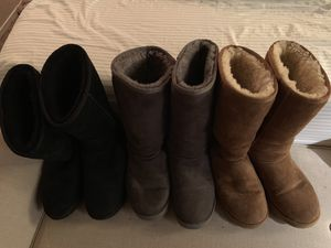 Ugg tall womans size 8 for Sale in Dallas, TX