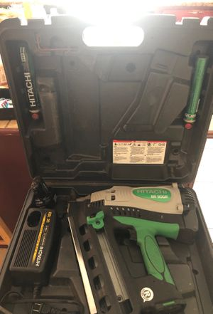Hitachi NR 90GR battery and charger for Sale in Lynn, MA
