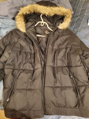 Black coat still very fresh for Sale in FAIRMOUNT HGT, MD