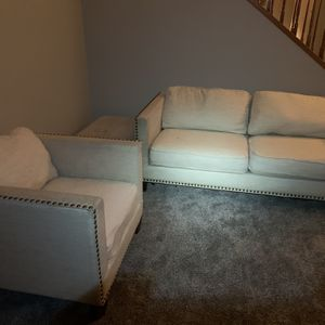 FREE! LA Z Boy Couch, Chair and Ottoman Set for Sale in Tracy, CA