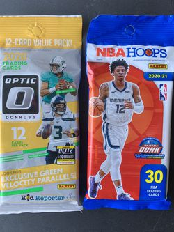 NFL Optic NBA hoops Cello Packs for Sale in Sacramento,  CA