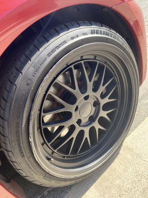 Rim / tires / 5x114.3 wheels Front 19x9.5 Rear 19x11 for Sale in Moreno Valley, CA