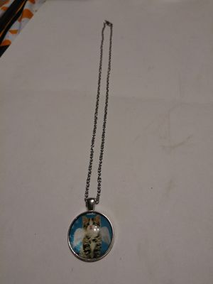 New! Kitty with angel wings necklace for Sale in East Gull Lake, MN