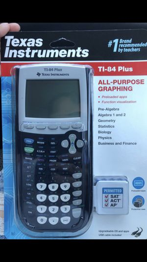 Texas Instruments TI-84 Plus for Sale in Lynwood, CA