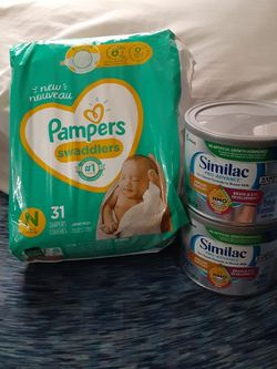 Similac & Nd Pampers for Sale in San Antonio,  TX