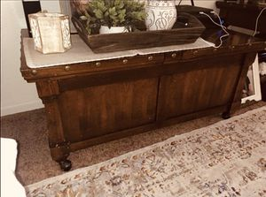 Ashley Furniture 1 Coffee Table Chest & 2 End table for Sale in San Jose, CA