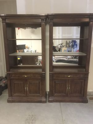 Two Bookcases (heavy) 38.5/14.5/78.5 $50 each for Sale in Visalia, CA