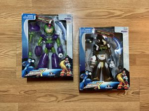 Megaman X Magnet Mine and Zero Nightshade Jazware 2003 Action Figures for Sale in Irwindale, CA