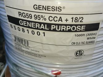 Genesis Security Camera Cable for Sale in Greer,  SC