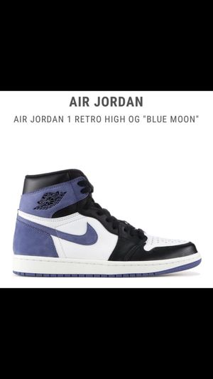 Jordan 1 Blue Moon Size 9 for Sale in New York, NY