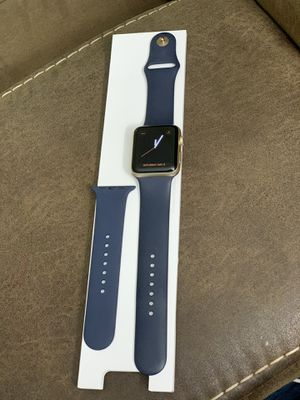 Apple watch 42mm- blue series-2 excellent condition for Sale in St. Louis, MO