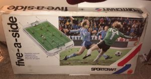 Unopened Stiga Sportcraft Five-A-Side Foosball for Sale in Aloha, OR