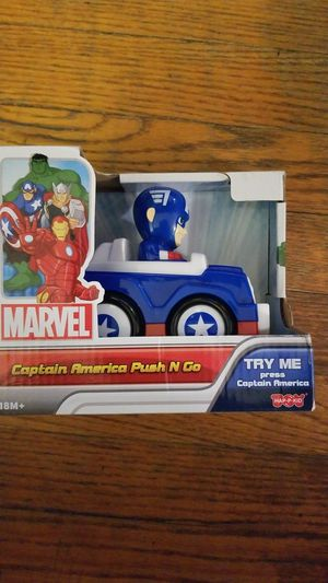Marvels Captain America Push N Go! New in Box! for Sale in Chicago, IL