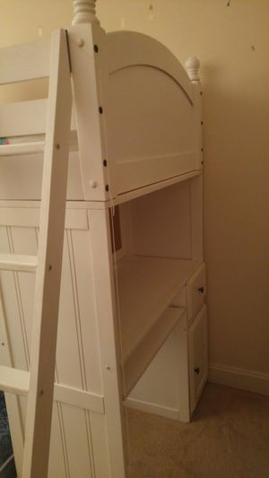 Bunk Bed Set - Includes two beds, a desk, and dresser for Sale in Gainesville, VA