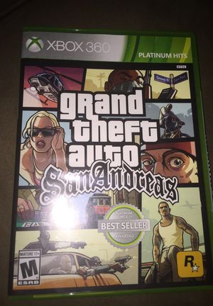 Xbox360 grand theft auto for Sale in San Francisco, CA