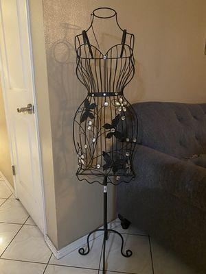 Butterfly Women's Wire Metal Dress Form Mannequin for Sale in Garden Grove, CA