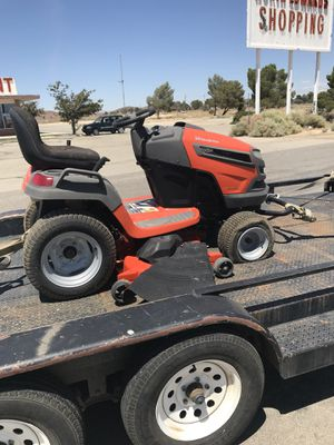 Husqvarna lawn tractor for Sale in Palmdale, CA