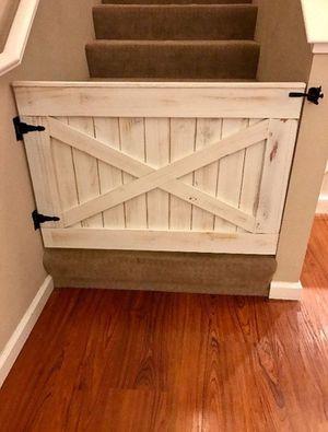 Rustic wood farmhouse style barn door gates for Sale in Chandler, AZ