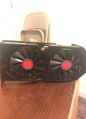 Rx580 8gb card XFx never mined on just used for light gaming for Sale in Stockton, CA