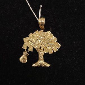 10k Gold Money Tree Symbol Pendant for Sale in North Las Vegas, NV