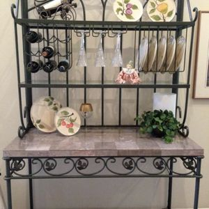 Baker's Rack with Real Marble!! for Sale in La Habra, CA