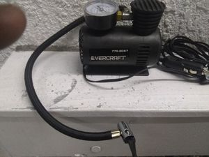 Air pump with pressure gauge plugs into car lighter for Sale in San Clemente, CA