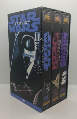 90s VHS box set Star Wars trilogy for Sale in Davis,  CA