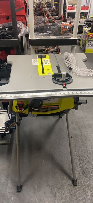 """Ryobi 10"""" Table Saw With Stand (no fence) $145 for Sale in Corona, CA"""