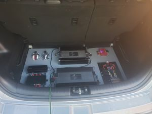 Complete car set up- DSP, amps, relay board for Sale in Oak Forest, IL