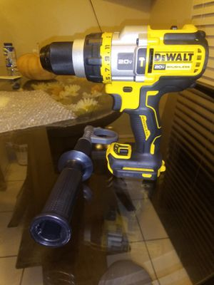 New Dewalt 20/60 v..... flex 3 speed hammer drill tool only for Sale in Dinuba, CA